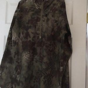 Ariat camouflaged jacket